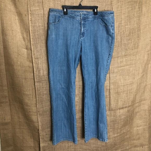 Chico's Denim - Chico's Platinum Lightwash Denim Jeans 3 16 Light